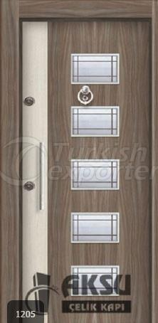 Laminate Relief Steel Door 1205
