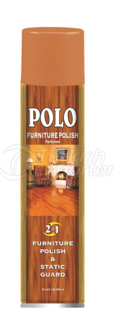 Static Guard and Furniture Polish