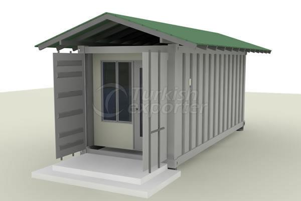 Container and Cabin