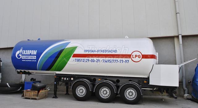 LPG Semi Trailer Tank