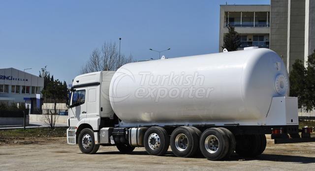 LPG Transportation Tank