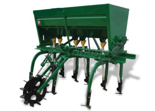 Hoeing Machine With Fertilizer 3 Row