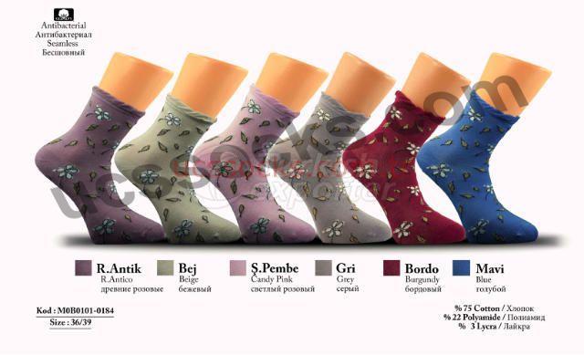 Women Socks M0B0101-0184