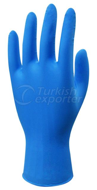 Blue Nitrile Examination Glove