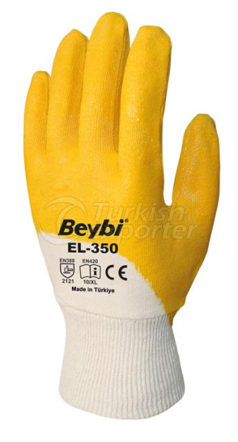 Nitrile Coated Cotton Gloves EL-350