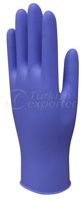 Violet Nitrile Examination Glove