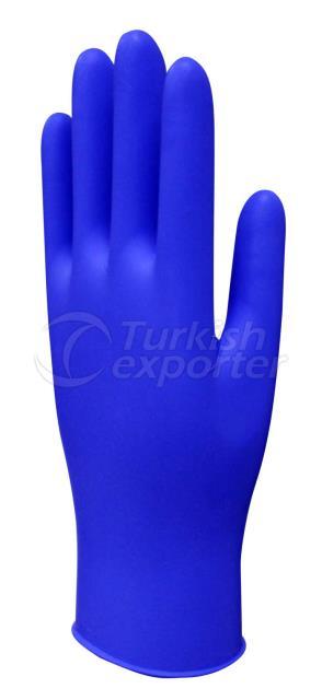 Latex Examination Gloves Blue