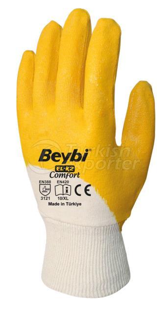 Nitrile Coated Cotton Gloves EL-K2 COMFORT