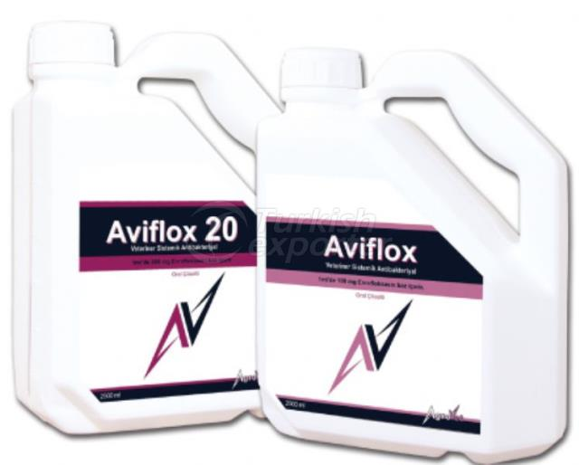 Aviflox 20 Oral Solutions
