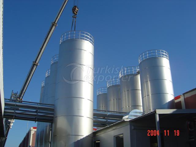 Stainless Steel Silo Tank
