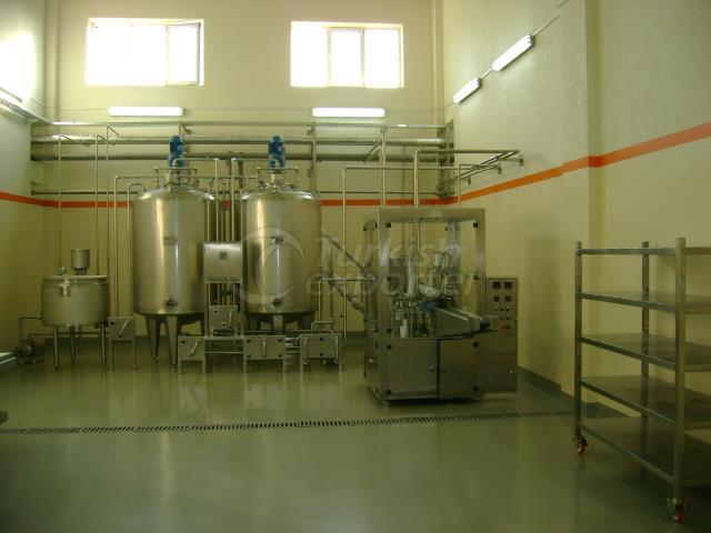 Ayran Processing and Packaging Unit