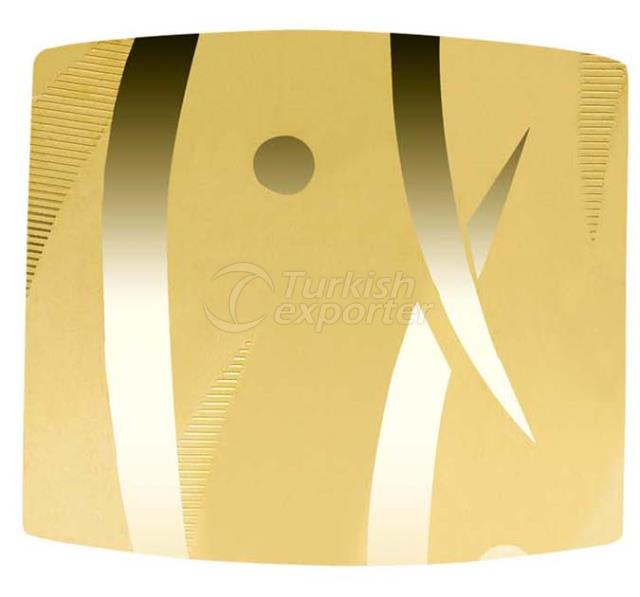 Lift Decoration MIRROR TI-GOLD CX-86
