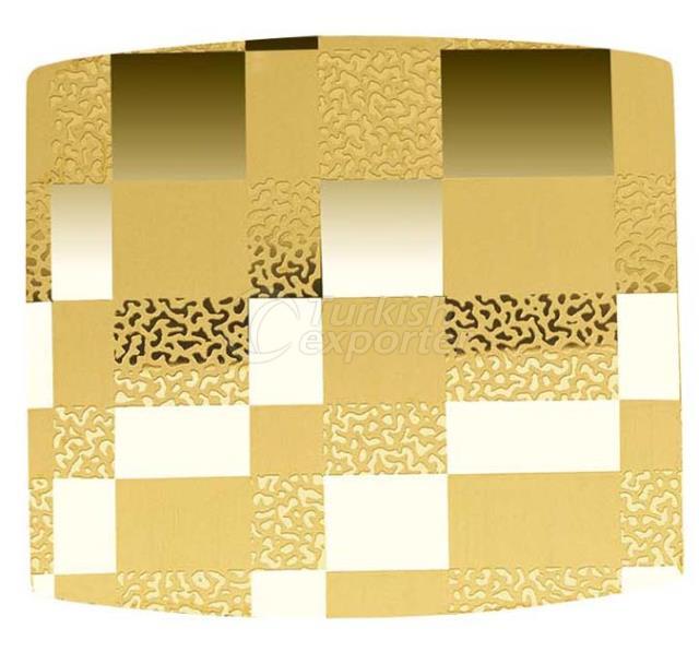 Lift Decoration MIRROR TI-GOLD CX-51