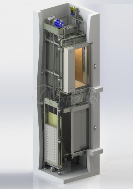 Machine Roomless System İDA MRL 01