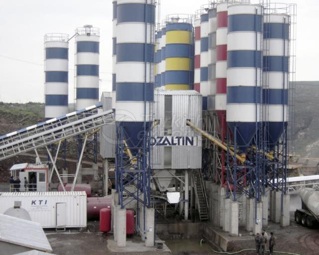 Stationery Concrete Batching Plant GBS-220