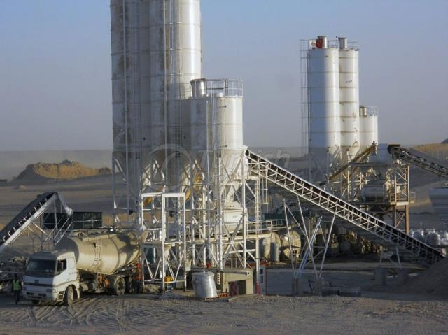 Stationery Concrete Batching Plant GBS-120