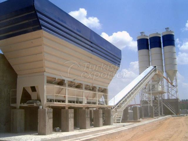 Stationery Concrete Batching Plant GBS-160