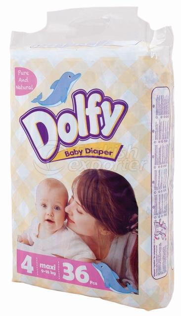 Baby Diapers Dolfy Maxi