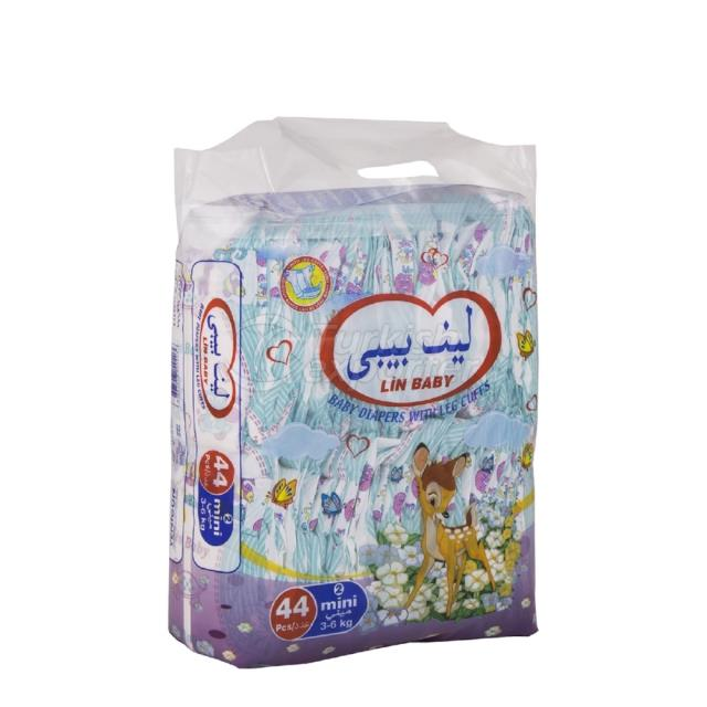 Baby Diapers Mini 44 pcs