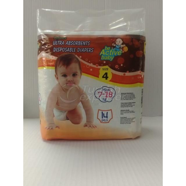 Baby Diapers Maxi 14 pcs