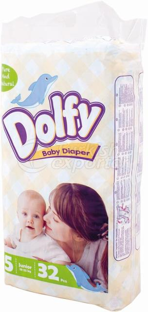 Baby Diapers Dolfy Junior