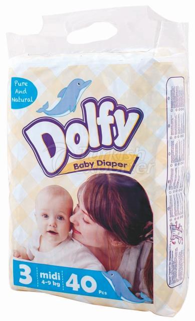 Baby Diapers Dolfy Midi