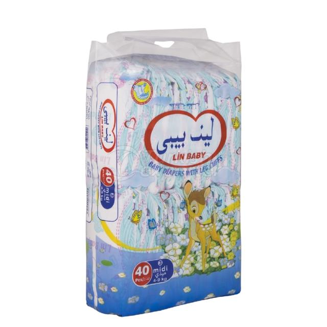 Baby Diapers Midi 40 pcs