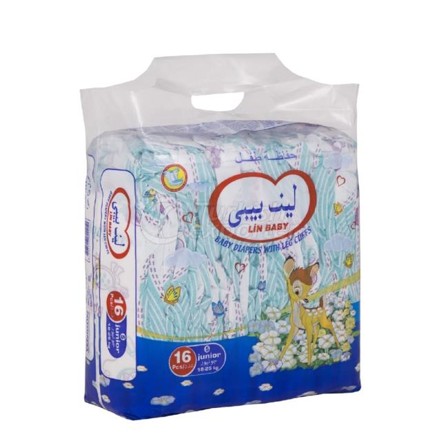 Baby Diapers Junior 16 pcs
