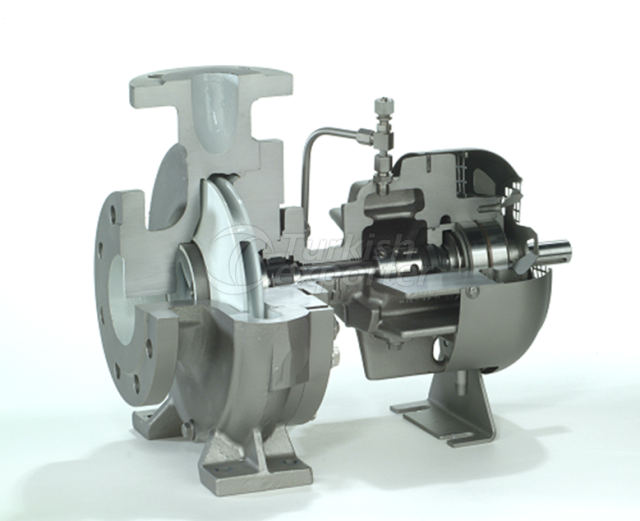 Hot oil pump