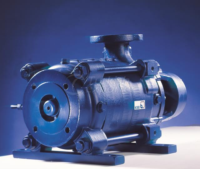 Horizantal multistage pumps