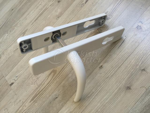 Aluminium Door Handle for PVC Doors