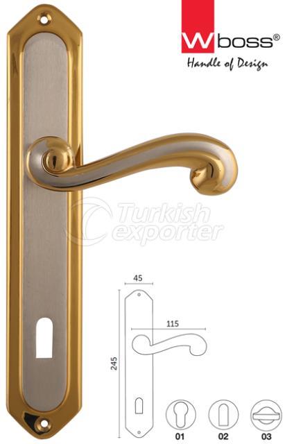Gul Brass Door Handle