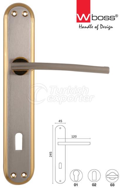 Marine Brass Door Handle