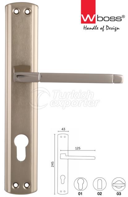 Diana Aluminium Door Handle