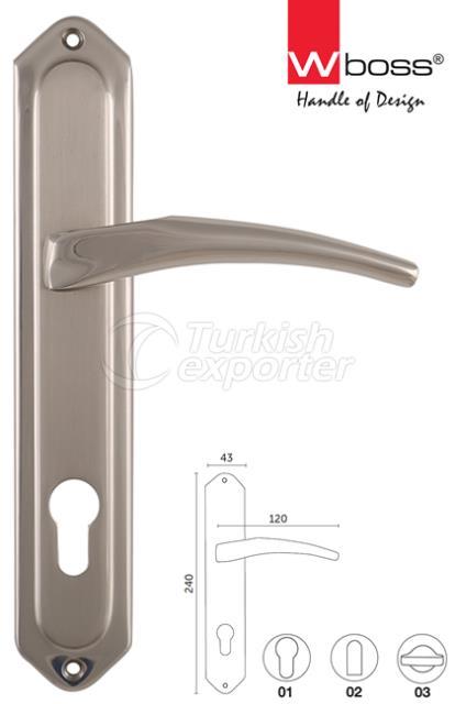 Bond Brass Door Handle