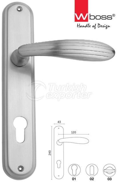 Laila Brass Door Handle