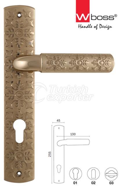 Anatolia Brass Door Handle