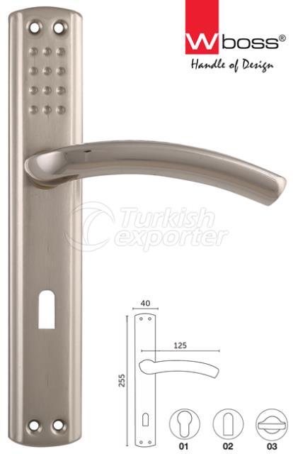 Paris Aluminium Door Handle