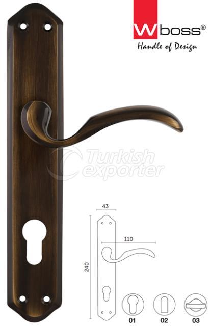 Esprit Brass Door Handle