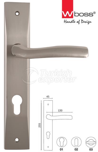 Viva Aluminium Door Handle