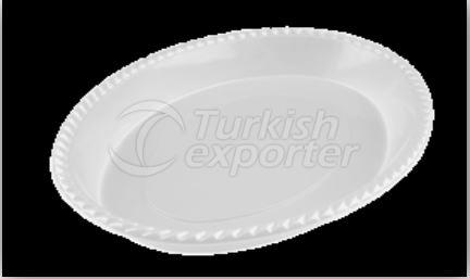 280mm Oval Plate
