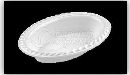 165mm Oval Plate