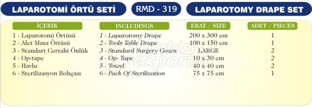 Laparotomy Drape Set