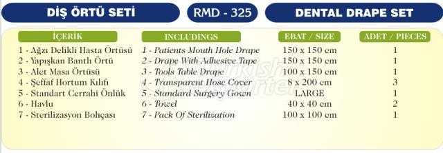 Dental Drape Set