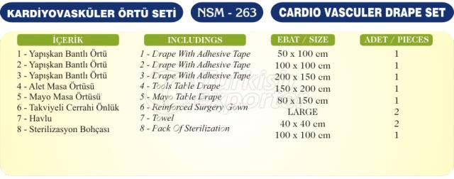 Cardio Vasculer Drape Set
