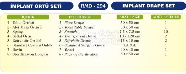 Implant Drape Set
