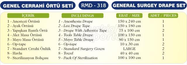 General Surgery Drape Set
