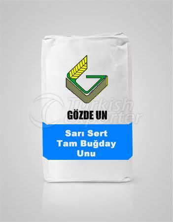 Yellow Hard Whole Wheat Flour