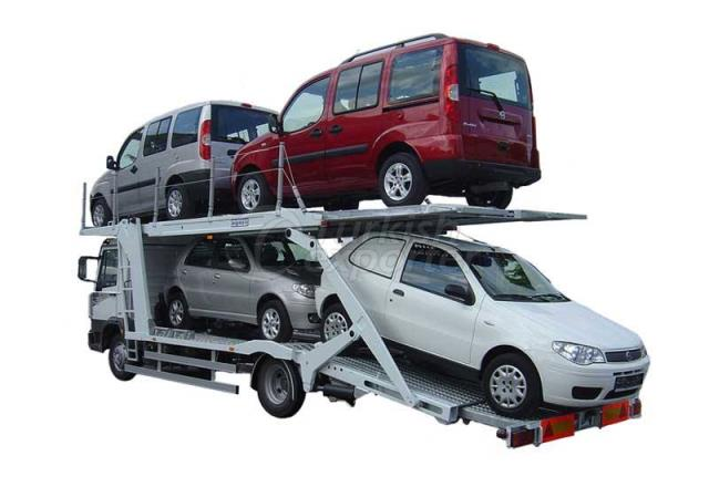Triple Platform Auto Carrier