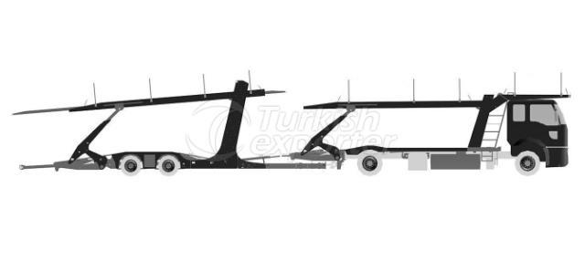Scissors Platform Auto Carrier